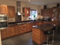 Fitted Kitchen with Granite tops and all appliances + matching fitted Utility room