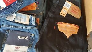Brand new brand name men's jeans and dress pants