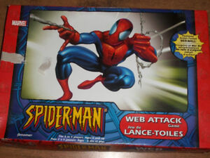 Spider-Man Web Attack Board Game