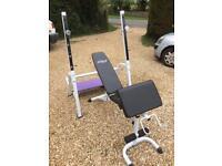 Gym Equipment - Rack & Bench