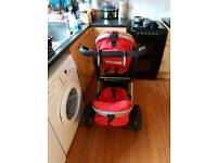 Isafe double pushchair