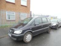 VAUXHALL ZAFIRA LIFE 1.6 PETROL 7 SEATER SPARES AND REPAIRS