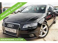 AUDI A4 2.0 AVANT TFSI PETROL QUATTRO S LINE 5D 210 BHP JUST SERVICED AT AUDI