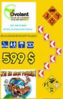 PERMIS DE CONDUIRE,COURS DE CONDUITE COMPLET -599$- PROMO AOUT