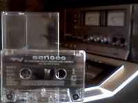 VARIOUS ARTISTS - SENSES - 20 CONTEMPORARY MOOD AND THEMES PRERECORDED CASSETTE TAPE - chrome tape.