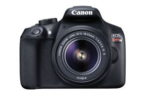 CANON - T6 --  EF-S 18-55mm -- IS II lens kit - ($200 of saving)