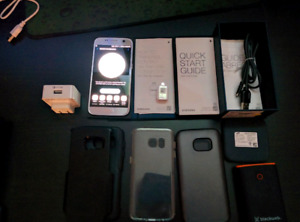 Samsung GS7(9/10 condish, Virgin) +3 Case +2 Fast Charger +more