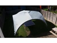 AS NEW COLEMAN EVENT SHELTER 15FT X 15FT 4.5MTRS X 4.5MTRS EXTRA LARGE
