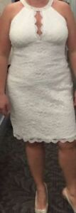 Brand New with Tags Destination Style Wedding Dress Size 14