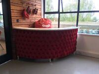 Bespoke Salon Reception Desk - excellent condition
