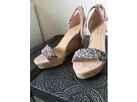 New Look Wedges - SIZE 5