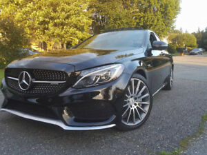 Transfert de location Mercedes C43 AMG. V6 Twin turbo!Full Load