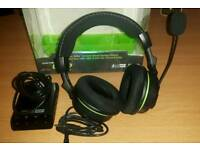 Turte beach ear forse x42 wireless surround sound gaming headset xbox 360