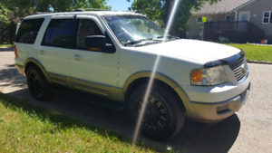 2003 ford expedition Eddie bauer  LOW km only 160