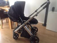 Oyster Pram / Pushchair for sale with adjustable handle length