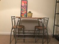 Great Table with Two Chairs