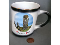 leaning tower of pisa mug