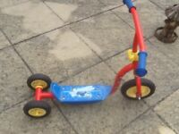 Used scooters-Fireman Sam and Disney,s Princesses for 3yr old and above-in full working order£10each