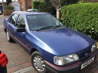 Rare original condition Ford Sierra Sapphire 1.8LX with MOT one owner from new