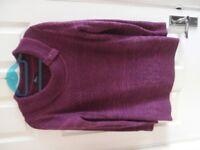 Purple Acrylic Jumper (Small)