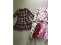 Girls clothes age 3-4 years