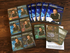 Complete Mike Michalkow Drumming System 20+ Instructional DVDs