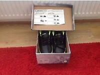 Sidewalk UK4 Boys 2 Wheels Heelys Trainers Black/Green Worn Once Inc Gel Insoles