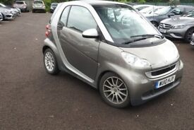 Smart Fortwo With Sat Nav-Pan Roof and Full Smart Service History