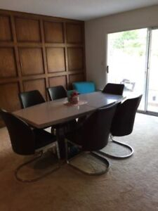 Modern Table And Chairs For Sale