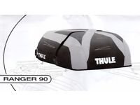 Roof box - Thule Ranger 90 foldable soft box and roof bars