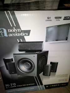 Nolyn acoustics surround sound speakers!