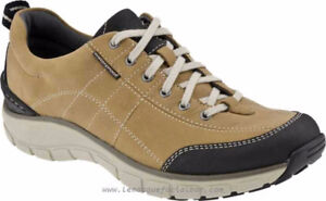 New Ladies Clark's Trek Wave Leather Sneakers Sz Value $185