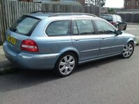 JAGUAR X TYPE 2.2D SE SAT-NAV LEATHER..LOW MILES