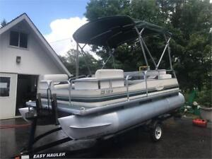 ***JUST CAME IN*** 2006 16' MISTY HARBOR - 4 STROKE PONTOON