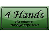 DUNDEE 4 hands synchronised massage Dundee