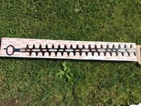 Single blade for Stihl HS56C hedge trimmer