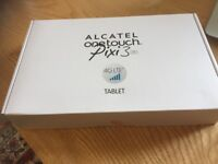 New unused Alcatel Pixi 3 Android Tablet still in its box