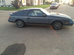 1984 Chrysler Laser Turbo for sale $4500 OBO