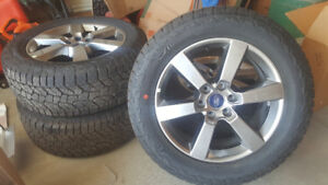 Ford Truck F150 New Tires and rims 2017 F150
