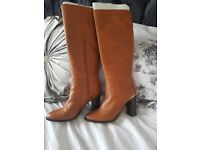 River island tan boots