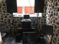 Dicso/ karaoke equipment