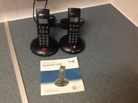 For Sale Set of BT Cordless Phones