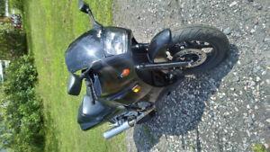 Ninja 600 trade for dirt bike two stroke 250 or 450 four stoke