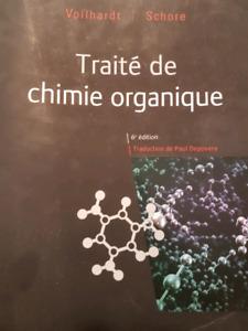 Traité de chimie organique 6e édition