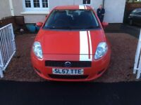 Fiat punto grande 2007 low mileage been in the family from new love the wee car .