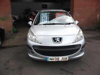 2008 Peugeot 207 1.4HDI 70 ( a/c ) S 95,292 Miles