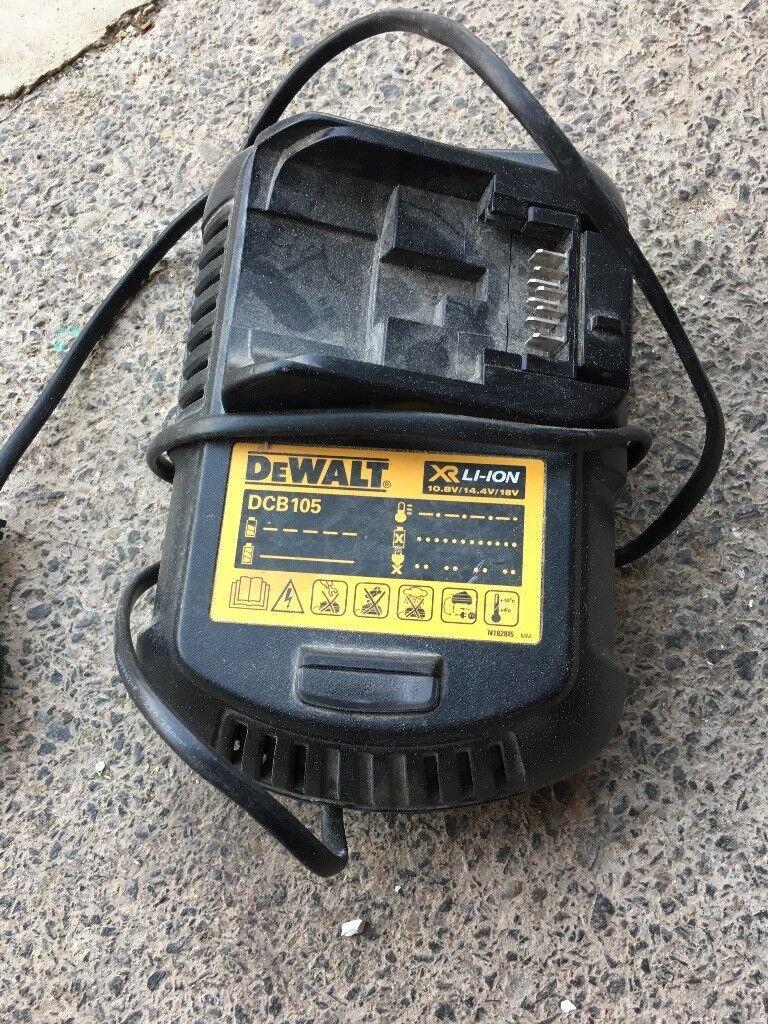 Dewalt charger broken