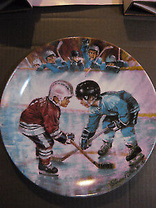 Hockey Player Collector Plates