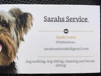Dog walker/pet sitter