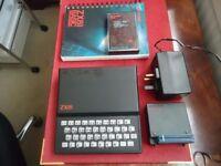 SinclairZX81 + 16 Mg RAM pack